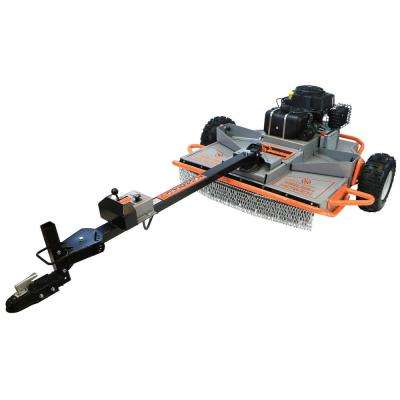 46 in. Pull Behind Rough Cut Lawn Mower with Electric Start 20HP DHT Engine