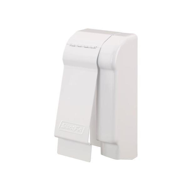 Fine/Line 30 Decor Series 3-3/4 in. Right-Hand End Cap for Baseboard Heaters in Brite White