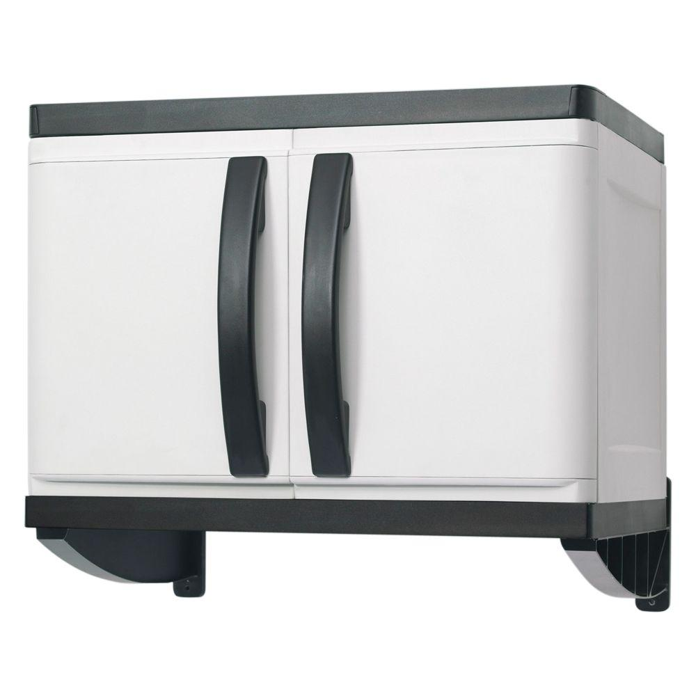 Plastic Wall Cabinet  sc 1 st  The Home Depot & HDX 26 in. Plastic Wall Cabinet-194985 - The Home Depot