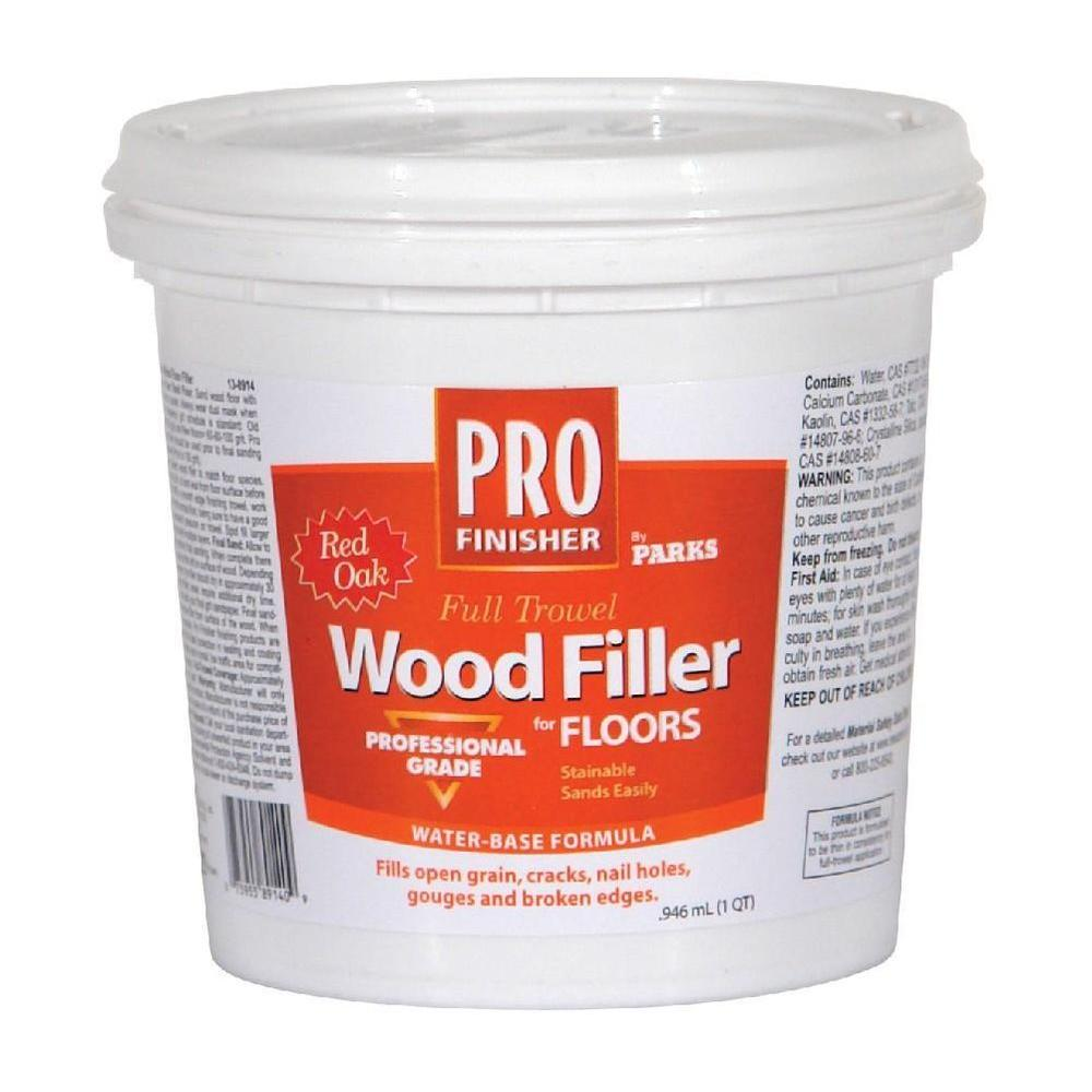 1 qt. Red Oak Pro Finisher Wood Filler (Case of 6)