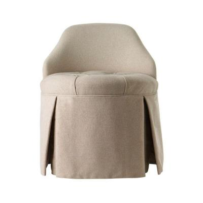 Ella Natural Vanity Stool