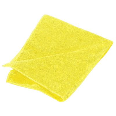 16 in. x 16 in. Microfiber Terry Cleaning Cloth in Yellow (Case of 12)