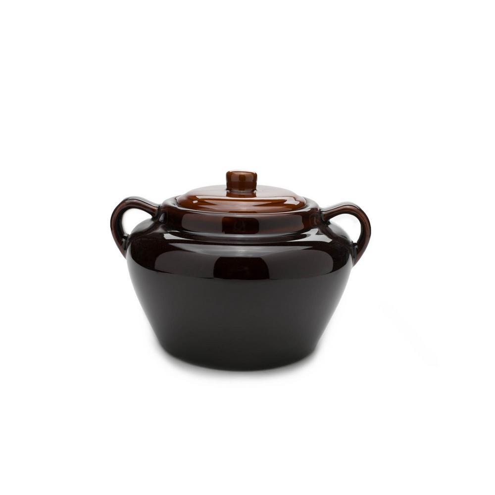 Stoneware Bean Pot