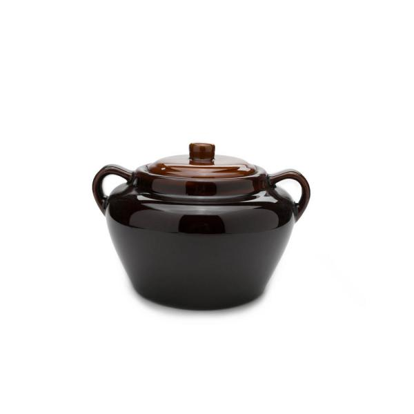 Fox Run Stoneware Bean Pot