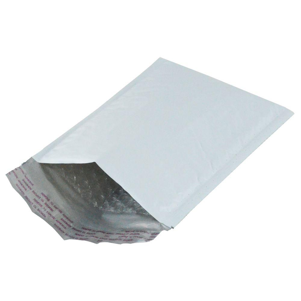 MAILERS4U 7.25 in. x 11.25 in. #1 Poly Bubble Mailer Self Sealing Envelopes 8 in. x 12.5 in. (50-Pack)