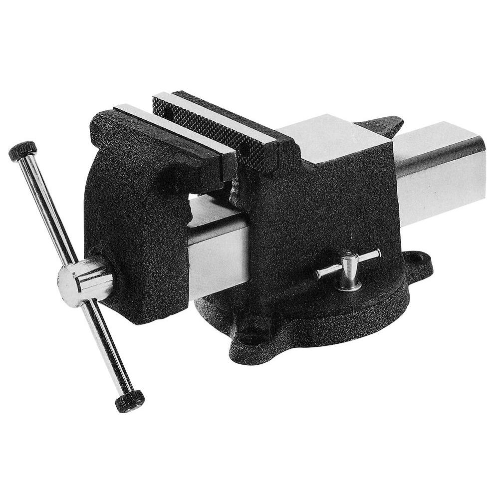 Yost 8 In All Steel Utility Workshop Bench Vise 908 As The Home Depot