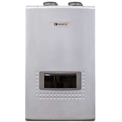 10.1 GPM Built-In Recirc. Pump - Natural Gas High Efficiency Indoor/Outdoor Tankless Water Heater 12-Year Warranty