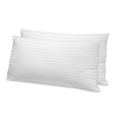 Luxury Memory Fiber King Pillow with 500-Thread Count Tencel Cover (2-Pack)