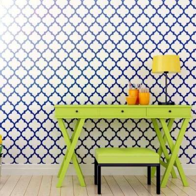 19.5 in. x 19.5 in. Agadir Wall Painting Stencil
