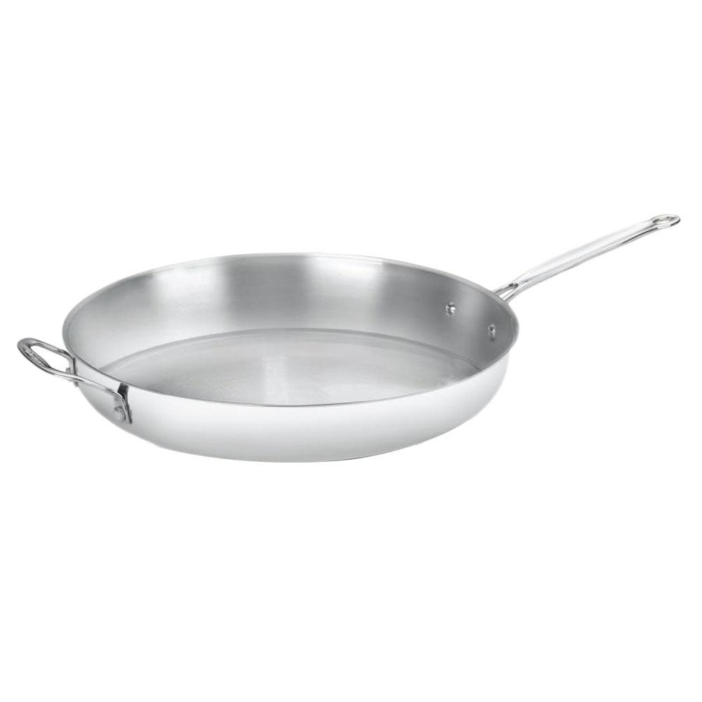 Cuisinart Stainless Steel (Silver) 14 in. Open Skillet