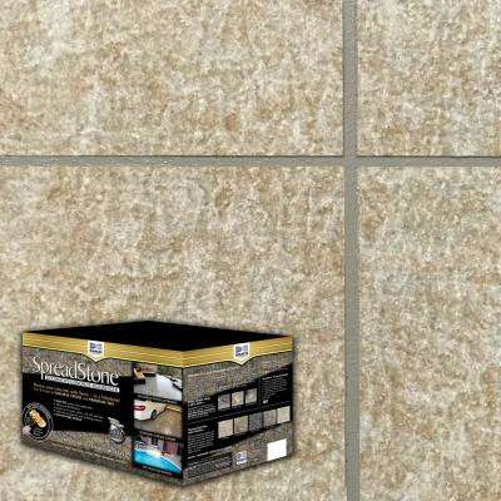 SpreadStone 2.5 gal. Sun Ledge Satin Interior/Exterior Decorative Concrete Resurfacing Kit