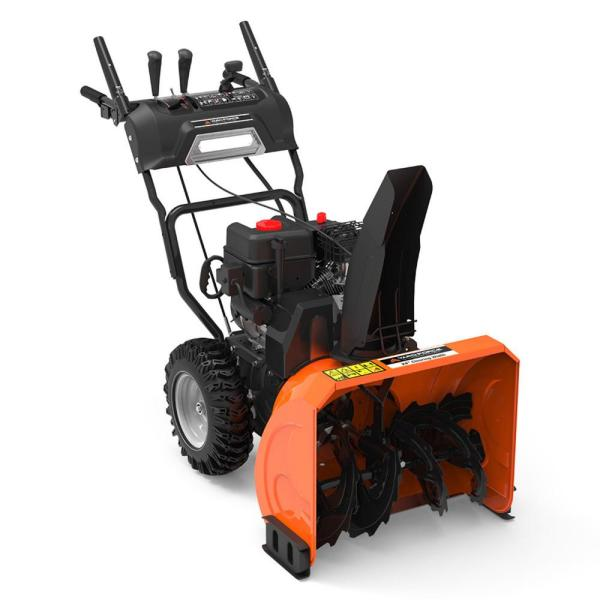 24 in. Dual-Stage Gas Snow Blower with Electric Start