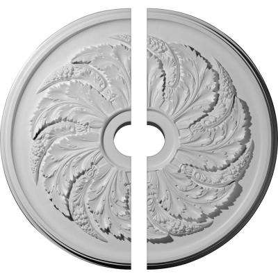 42-1/8 in. O.D. x 6 in. I.D. x 1-7/8 in. P Sellek Ceiling Medallion (2-Piece)