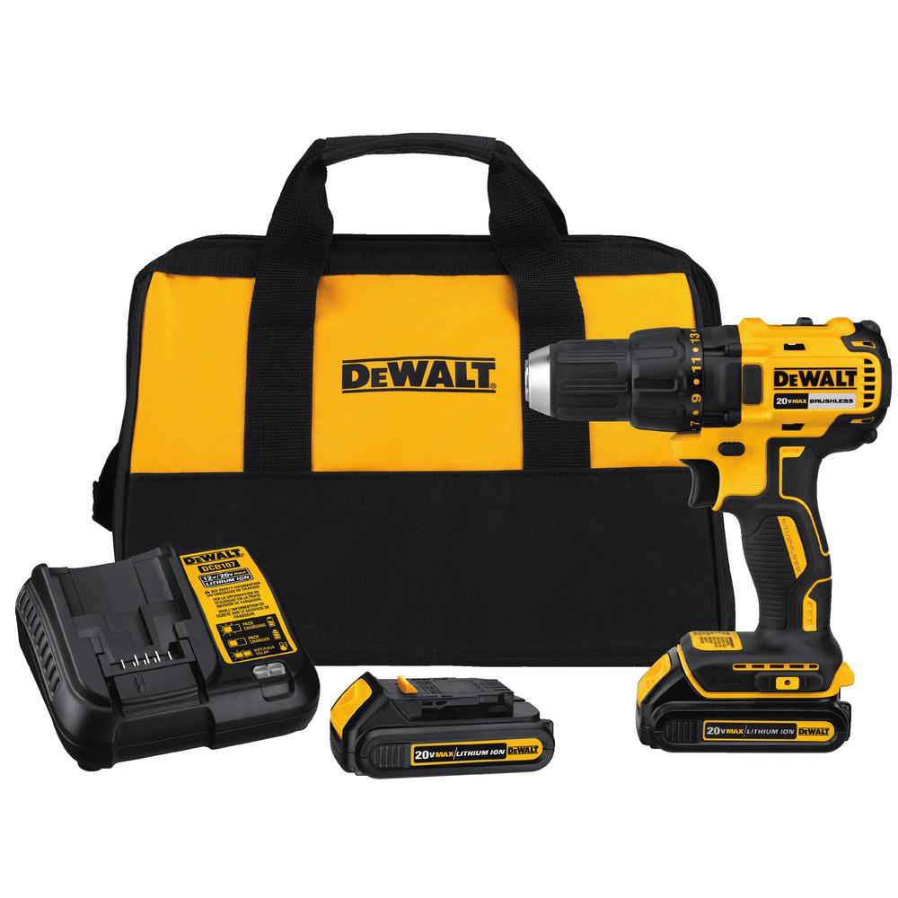 Dewalt 20 Volt Max Lithium Ion Cordless Brushless Compact 12 In