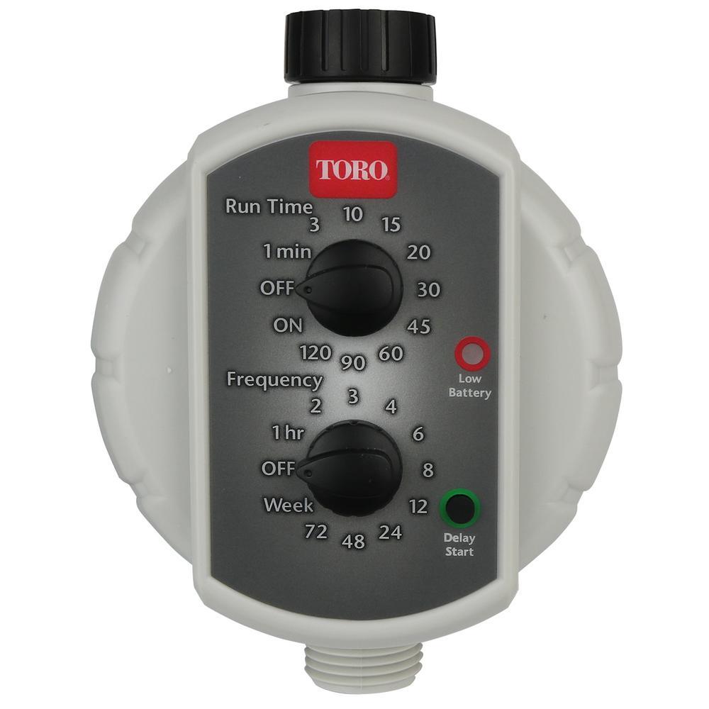 Low-Pressure Tap Timer