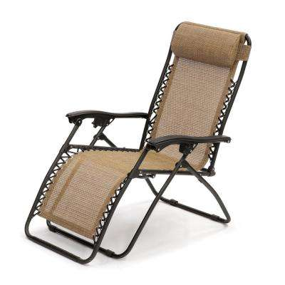 Large Convertible Royale Steel Patio Gravity Lounge Chair