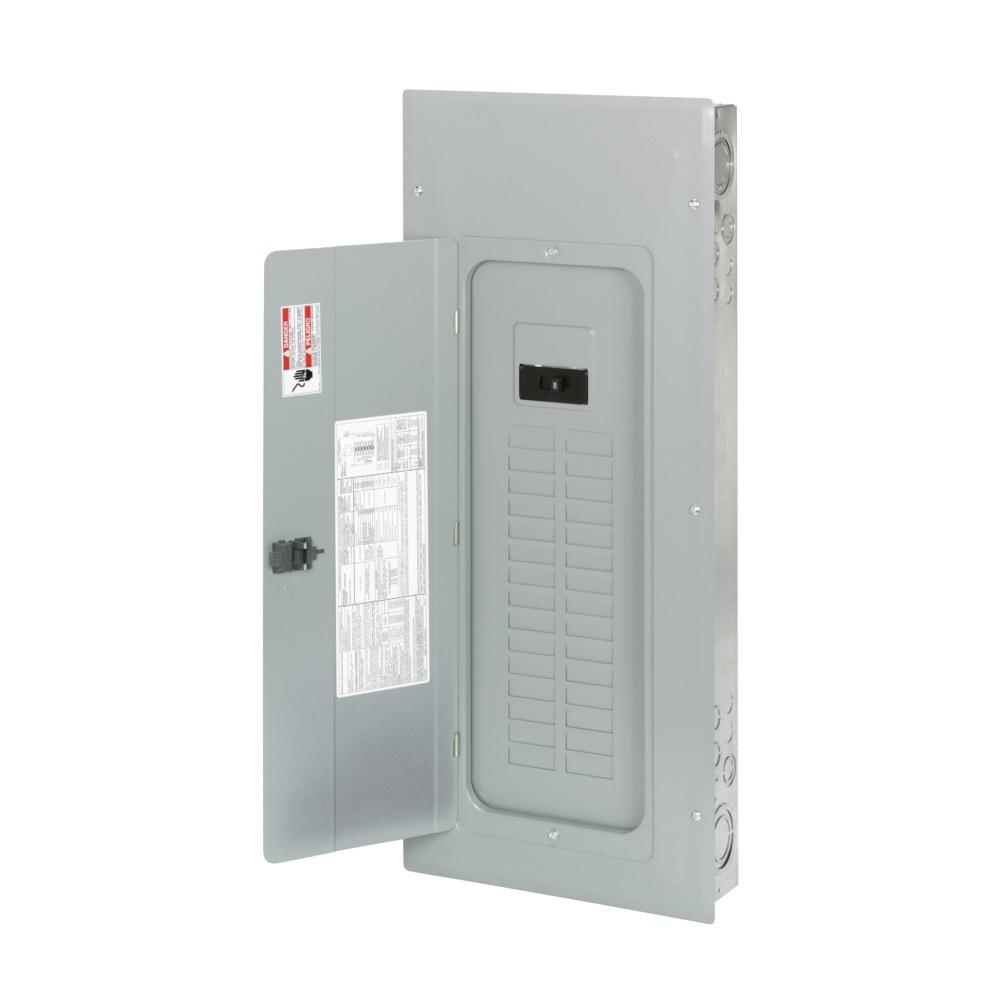 Eaton Br 200 Amp 60 Circuit Main Breaker Indoor Plug On Neutral Load Type 20 Singlepole Ground Fault Center Contractor