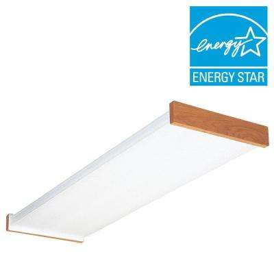 3255RE 4 ft. Wraparound Lens Fluorescent Ceiling Fixture