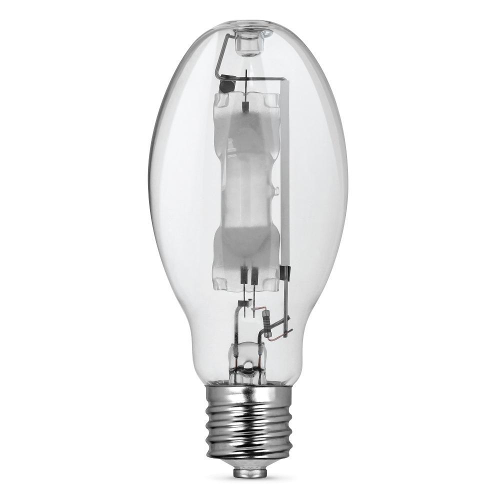400-Watt ED28 Shape Clear Metal Halide High Intensity Discharge E39 Mogul Base HID Light Bulb (1-Bulb)