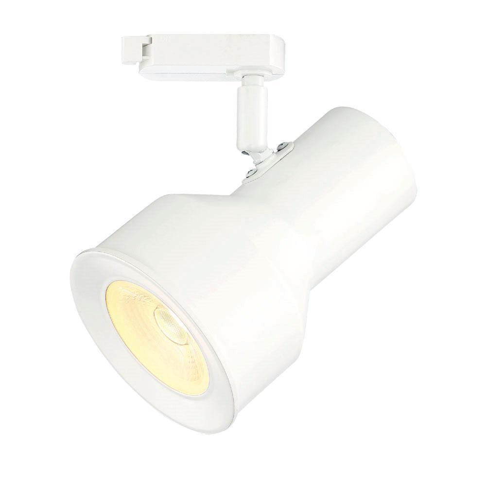 Led Track Light Head White
