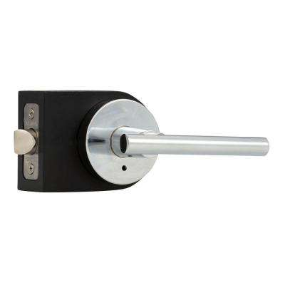 Contemporary Collection Cira Polished Chrome Bed/Bath Door Lever