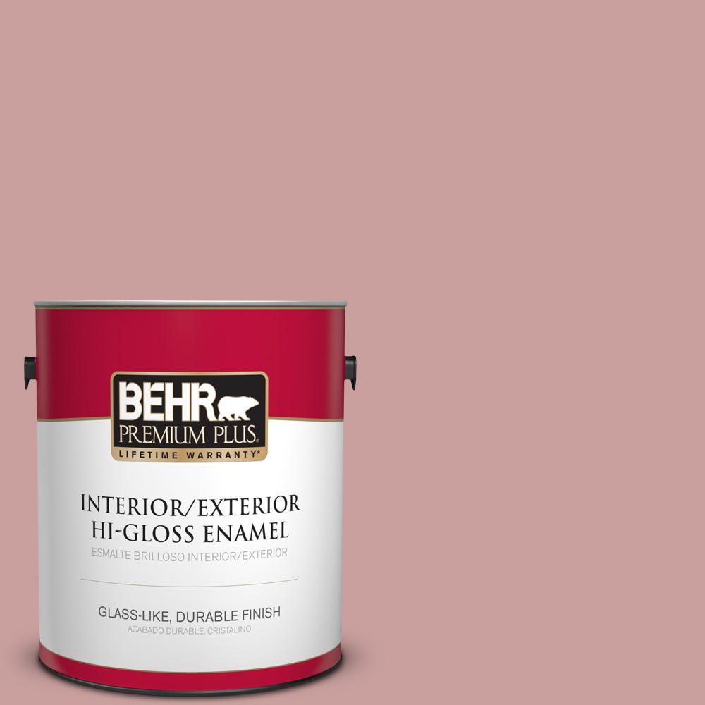 1 gal. #MQ1-13 Lady Guinevere Hi-Gloss Enamel Interior/Exterior Paint