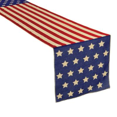 Amscan 6 Ft X 14 In Patriotic Table Runner 2 Pack 570025 The Home Depot