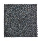 BeachStone 15 in. x 0.5 in. Black Placemat