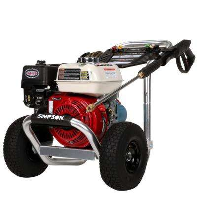 3400 PSI 2.5 GPM Gas Pressure Washer Powered by Honda GX200 with CAT Triplex Pump