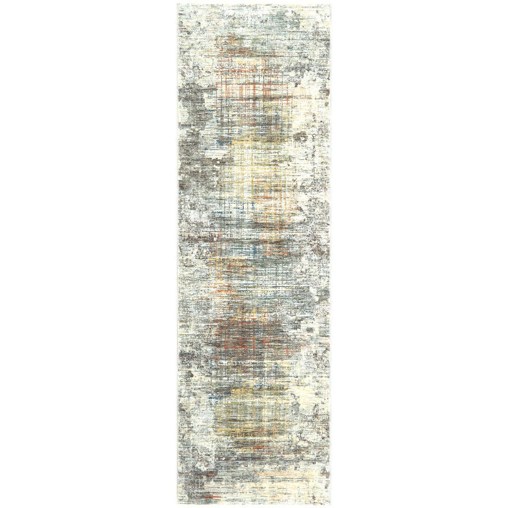 Signature Thurman Multi 2 ft. 2 in. x 7 ft. 2 in. Indoor Area Rug