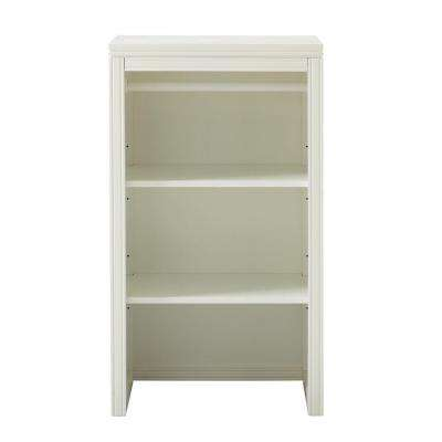 24 in. H x 18 in. W in Picket Fence Laundry Storage Hutch with Clothing Rod