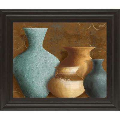 """22 in. x 26 in. """"Ancient Clay I"""" by Lanie Loreth Framed Printed Wall Art"""