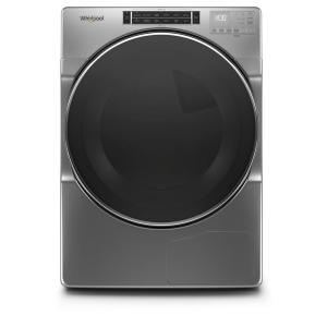 7.4 cu. ft. 240-Volt Stackable Chrome Shadow Electric Ventless Dryer with Intuitive Touch Controls, ENERGY STAR