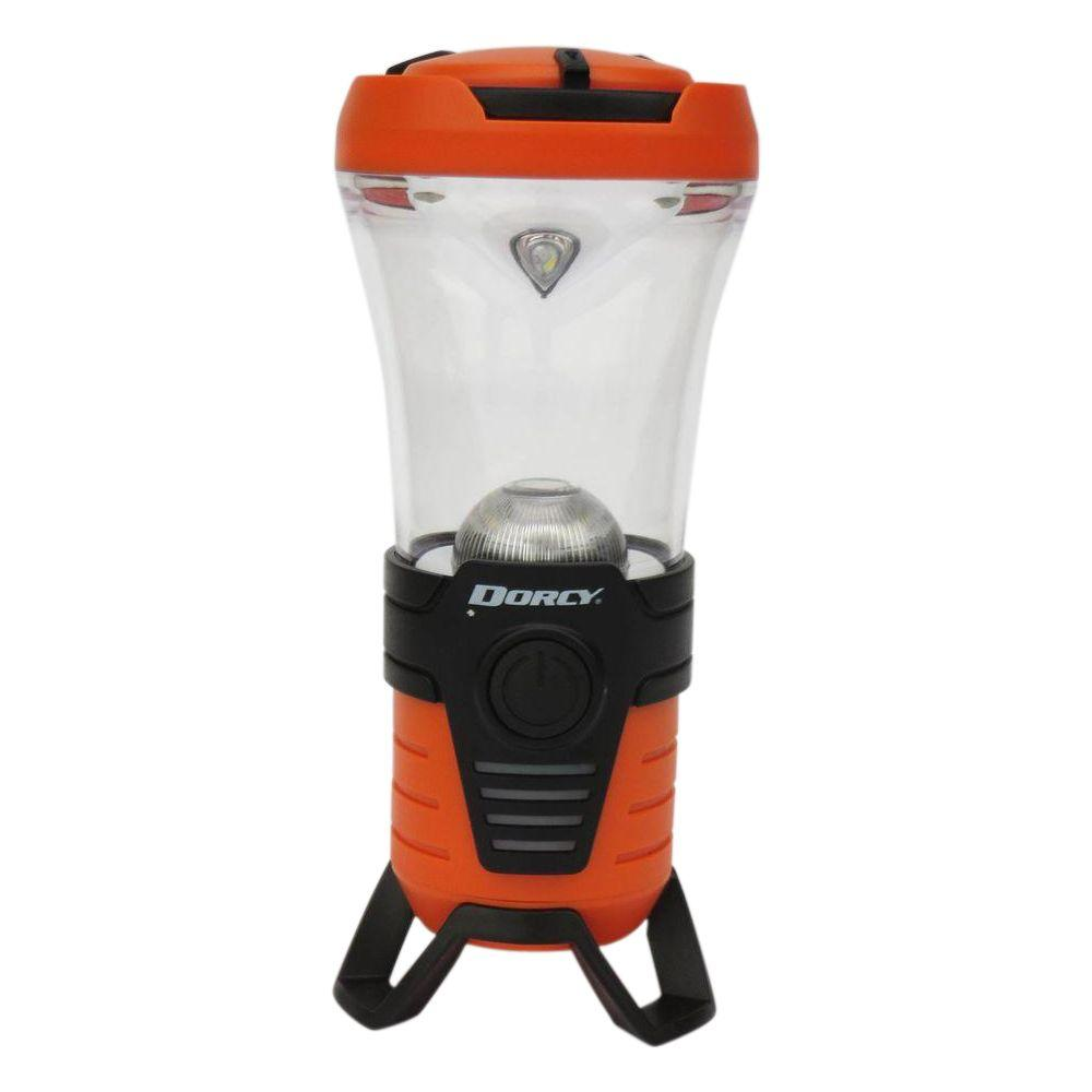USB Rechargeable LED Bluetooth Power Bank Lantern with Speaker,  Orange