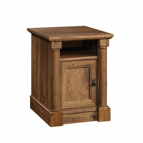 Sauder Palladia Collection Vintage Oak 1 Door End Side