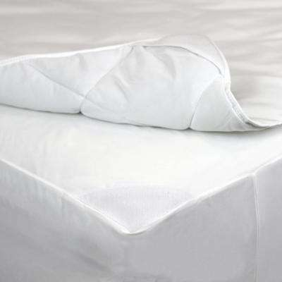 2-in-1 Twin Mattress Pad and Fitted Waterproof Mattress Protector