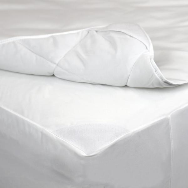 AllerEase 2-in-1 Mattress Pad and Fitted Full Waterproof Mattress Protector