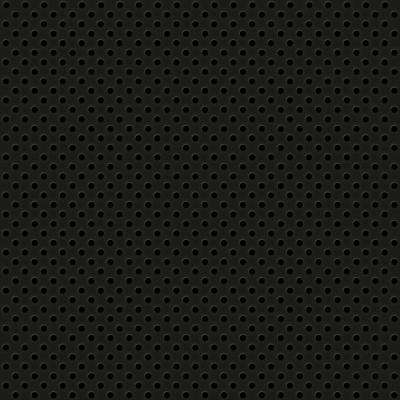 Black 2 ft. x 2 ft. Perforated Metal Ceiling Tiles (Case of 10)