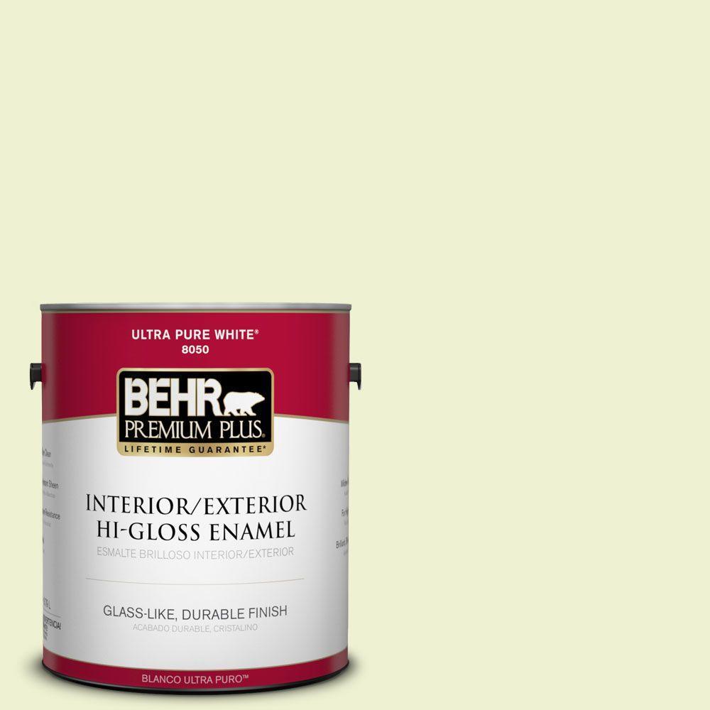 1-gal. #420A-1 Green Shimmer Hi-Gloss Enamel Interior/Exterior Paint