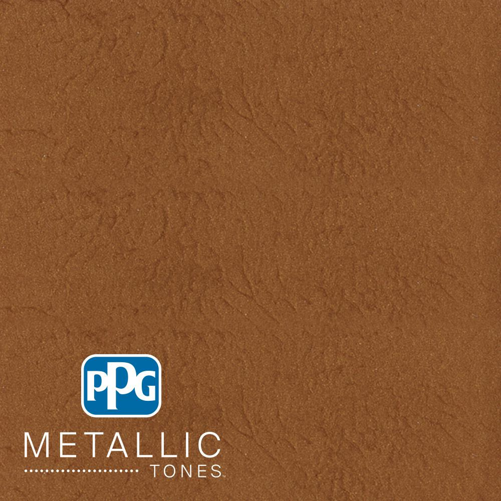 PPG METALLIC TONES 1  gal. #MTL141 Hushed Copper Metallic Interior Specialty Finish Paint