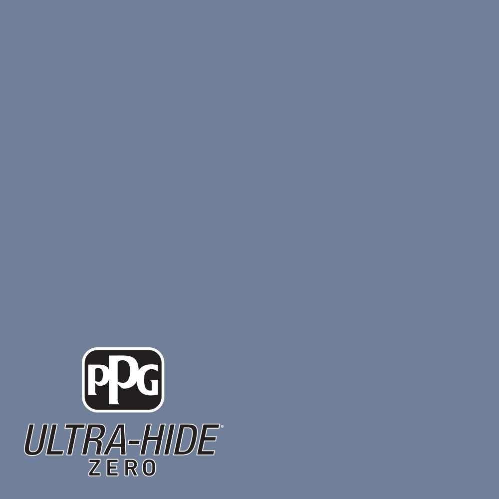 PPG 1 gal. #HDPV21U Ultra-Hide Zero Prairie Kitchen Blue Satin Interior Paint