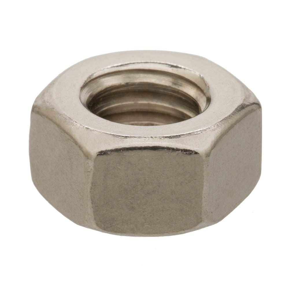 5/16 in.-18 tpi Stainless Steel Finished Hex Nut (3-Pack)