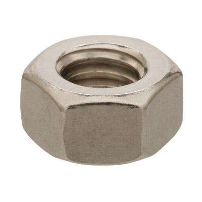 #8-32 Stainless Steel Hex Nut (50-Piece)