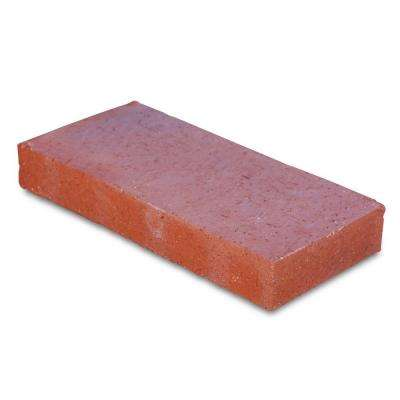 Traveler 11.5 in. x 5.5 in. x 1.63 in. Red Clay Flash Paver