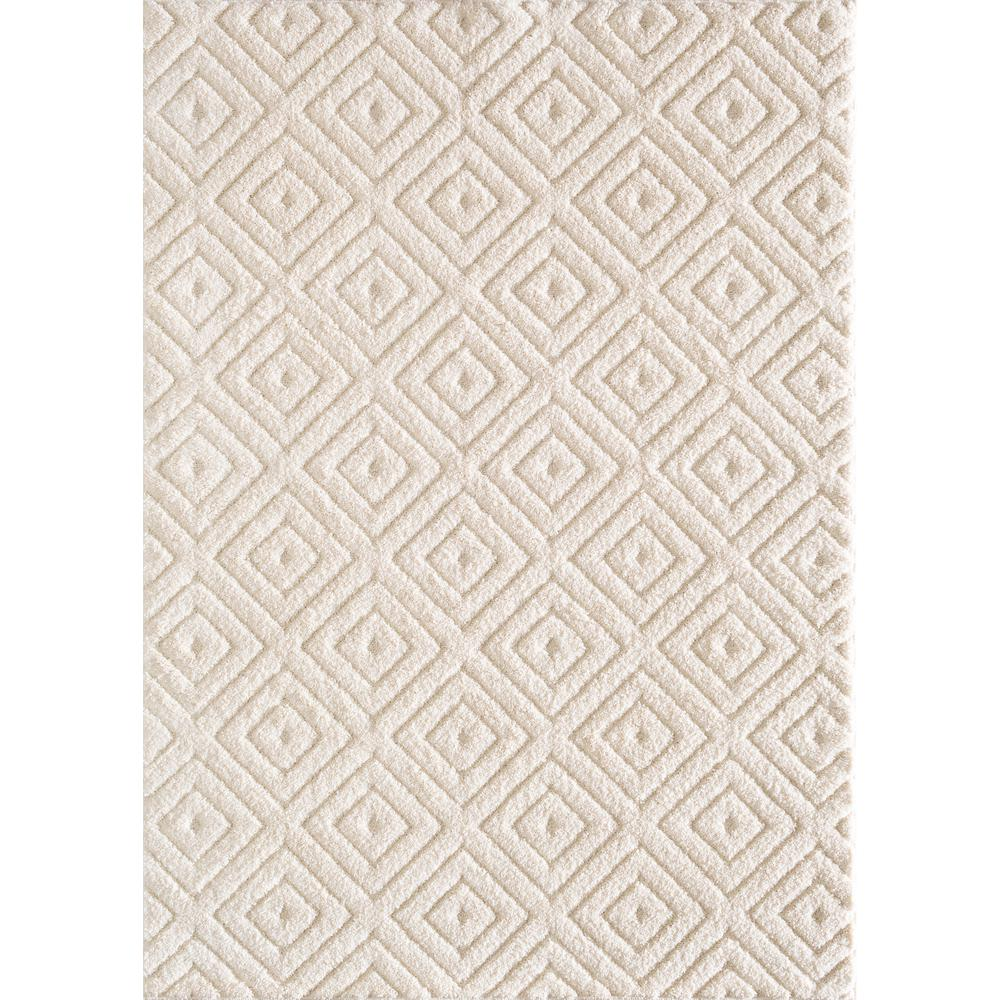 Natco Ronin Off White 2 Ft X 4 Area Rug