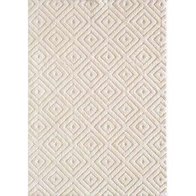 Ronin Off White 7 ft. 6 in. x 9 ft. 6 in. Area Rug