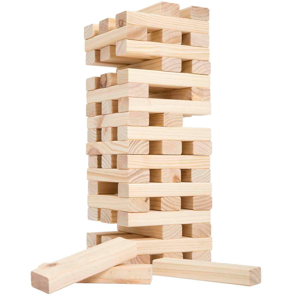 Non Traditional Giant Wooden Blocks Tower Stacking Game