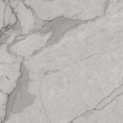 Take Home Sample - Grey Marble Peel and Stick Vinyl Tile Flooring - 5 in. x 7 in.