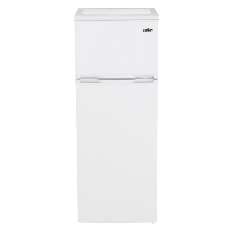 Counter depth refrigerators home depot - Top Freezer Refrigerator In White Counter Depth