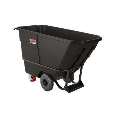 1450 lbs. Capacity 1/2 yds. Heavy-Duty Towable Tilt Truck